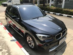 BMW X1 ปี 2012 รถบ้านผู้หญิงใช้ ไมล์แท้ 84,200 Km เข้าศูนย์ตลอดตรวจสอบประวัติได้