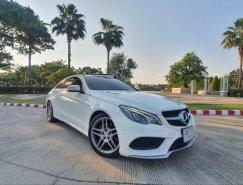 BENZ E200 COUPE AMG ปี 2015 สีขาว เบนซิน