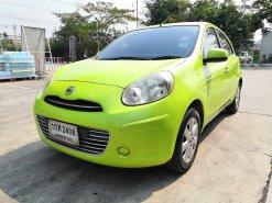 ขายรถมือสอง 2012 #NISSAN MARCH 1.2 E. เกียร์ออโต้ 🔥 #เครดีฟรีดาวน์🌟