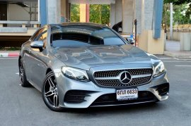 2018 Benz E300 coupe AMG