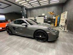 2019 Porsche Cayman 718 Agate Grey