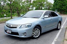 2011 Toyota CAMRY 2.4 Hybrid รถเก๋ง 4 ประตู รถบ้านแท้ สวยจัด ไม่เคยทำสีแม้แต่ชิ้นเดียว วิ่ง 7 หมื่นโล สภาพนางฟ้า หายาก ออฟชั่นแน่นๆ หาไม่ได้อีกแล้ว