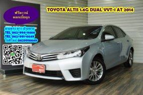 TOYOTA ALTIS 1.6G DUAL VVT-i AT 2014