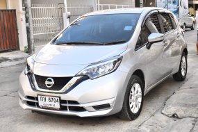 ปี2019แท้ ไมล์ 4,xxxกม. Nissan Note 1.2V ออโต้ 5ประตู สีบรอนซ์เงิน รถสวยสภาพใหม่มากๆ มือเดียว