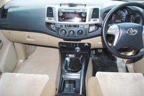 FORTUNER 2.5G เกียร์ธรรมดา รถสวย 36,000 กม.แท้ ภายในใหม่มาก ของเดิมติดรถ