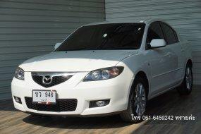 MAZDA3 1.6 SPIRIT SEDAN AT ปี 2010 สีขาว รถสวย พร้อมใช้ ออกรถ 0 บาท