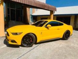 Ford#mustang สีเหลืองแท้ แต่งshelby gt รถปี2017
