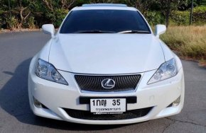 Lexus IS250 Premium Package Option Sunroof Top สุดของรุ่น