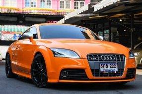 Audi TTS 2.0 tfsi quattro ปี2010 วิ่ง 6x,xxx km.  รถออกศูนย์ BRG
