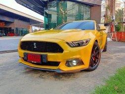 Ford mustang สีเหลืองแท้#แต่งshelby gt รถปี2017