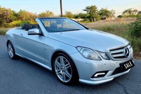 Benz E200 Cabriolet AMG Package