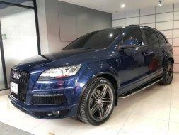 Audi Q7 3.0 V6 TDI Quattro S Line สี NAVY BLUE ปี 2013