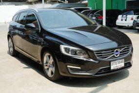 2014 VOLVO V60 T4F สีดำ(พิเศษ สวยมากๆ)