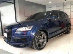 #Audi #Q7 3.0 V6 TDI Quattro S Line  สี NAVY BLUE ปี 2013