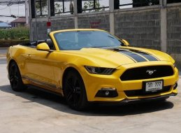 FORD MUSTANG 2.3 ECOBOOST CABRIOLET MY.2017 รถมือสอง
