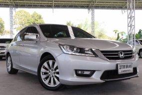 2013 Honda ACCORD 2.0 EL i-VTEC รถเก๋ง 4 ประตู รถมือสอง