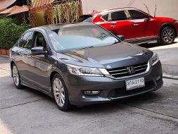 Honda Accord 2.4 TECH ปี13จด14 รถบ้านสวยมือเดียวขับดีออฟชั่นเต็มคันน่าใช้ รถมือสอง