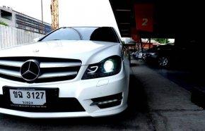 Benz c180 Coupe AMG Sport Plus 1.6 Turbo 2013 ตลาดรถรถมือสอง
