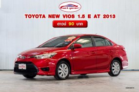 ขายดีรถมือสอง TOYOTA NEW VIOS 1.5 E AT 2013