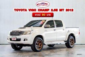 รถยนต์มือสอง TOYOTA VIGO CHAMP 2.5E MT 2012