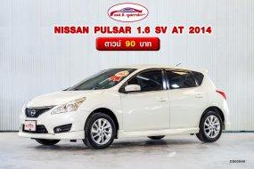 🚗 NISSAN PULSAR 1.6 SV AT 2014  ตลาดรถรถมือสอง