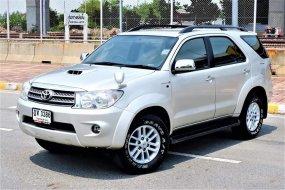 รถมือสองราคาดี 2010 Toyota Fortuner 3.0 V 4WD SUV