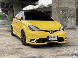 2016 MG3 1.5 X SUNROOF สีเหลือง ตัวท๊อป ขายถูกสุดใจตลาด
