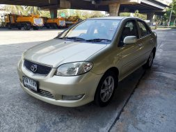 Toyota Vios 1.5 S AT ปี2005 LPG