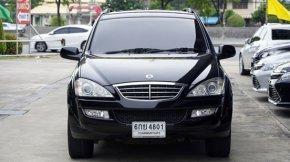 SSANGYONG KYRON 2.0 M200 XDi ปี2008 สีดำ 4WD