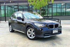 2012 BMW X1 [xDrive] 20d   สีดำ ภายในส้ม