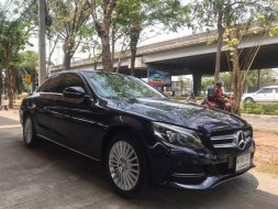 BENZ C180 DARK BLUE 2015
