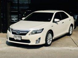 2013 Toyota Camry Hybrid ไมล์แท้ เข้าศูนย์ตลอด