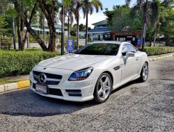 2014 Mercedes-Benz SLK200 AMG Sports รถเปิดประทุน