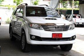 ขายรถ Toyota Fortuner 2.5 V ปี2013 SUV