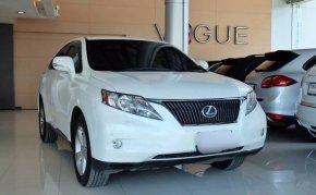 จองให้ทัน รถ SUV สุดหรู LexusRX350 ปี 2011
