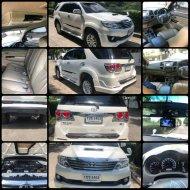 ขายรถยนต์  Toyota Fortuner 2W 3.0 ปี 2013