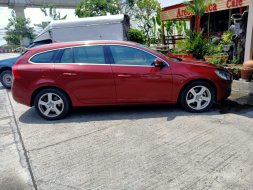 2013 VOLVO V60 1.6 TURBO SPORTWAGON top สีแดงเดิมๆแรงปลอดภัย