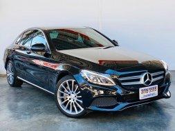 2016 Mercedes-Benz C350 e AMG W205 ไมล์น้อย 40,xxx km.