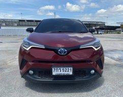 2018 Toyota C-HR 1.8 Hybrid รองท็อป ไมล์น้อยจัด 20,xxx km. สภาพป้ายแดง