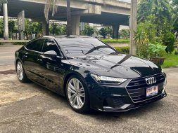 Audi A7 Sportback 55TFSI Quattro S-Line  รถศูนย์มือเดียวปี 2019 warranty ถึงปี 2024