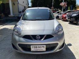 🔴ออกรถไม่ต้องใช้เงินซักบาท Nissan MARCH 1.2 S