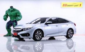 1O-99  Honda CIVIC 1.8 EL i-VTEC สีเทา เกียร์AT ปี2016