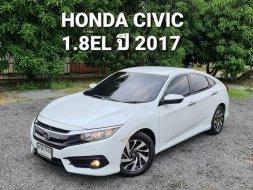 จองให้ทัน HONDA CIVIC 1.8EL ปี 2017 รถสวยมือเดียวสภาพพร้อมใช้