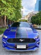 2018 Ford Mustang 2.3 EcoBoost รถเก๋ง 2 ประตู รถsport ยอดนิยม ใช้งานดีมาก ประหยัดน้ำมันสุด ใช้งานdairy used ได้ทุกวัน ราคาดี