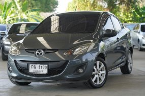 2011 MAZDA 2 1.5 GROOVE 4DR  สีเทา