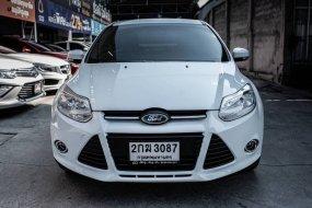 จองให้ทัน FORD FOCUS 1.6 TOP 2013 สีขาว AUTO รถสวยพร้อมใช้
