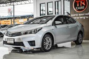 2016 Toyota Altis รถเก๋ง ผ่อน 7,XXX รถสวย บอดี้เดิม มือเดียว ประวิติดี เช็คศูนย์ คู่มือครบ กุญแจรีโมท