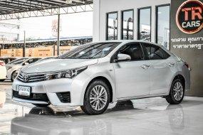 2014 Toyota Altis รถเก๋งผ่อน 6,XXX ตัวท๊อป รถมือแรกออกห้างเช็คศูนย์  เครื่องช่วงล่างเนี้ยบ