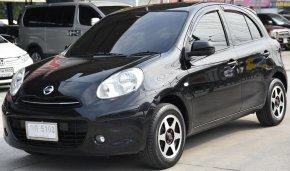 148000 Nissan MARCH 1.2 EL รถเก๋ง 5 ประตู