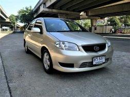 TOYOTTOYOTA VIOS 1.5 E เกียร์ AT ปี2004 รถพร้อมใช้ราคาเบาๆA VIOS 1.5 E